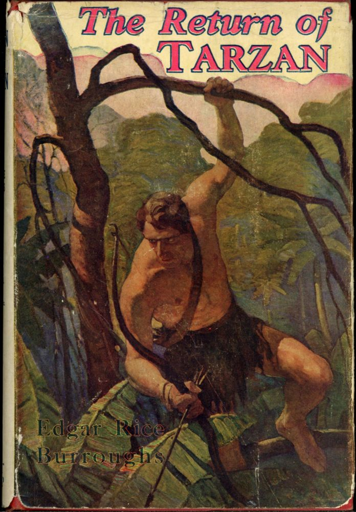 THE RETURN OF TARZAN. Edgar Rice Burroughs.
