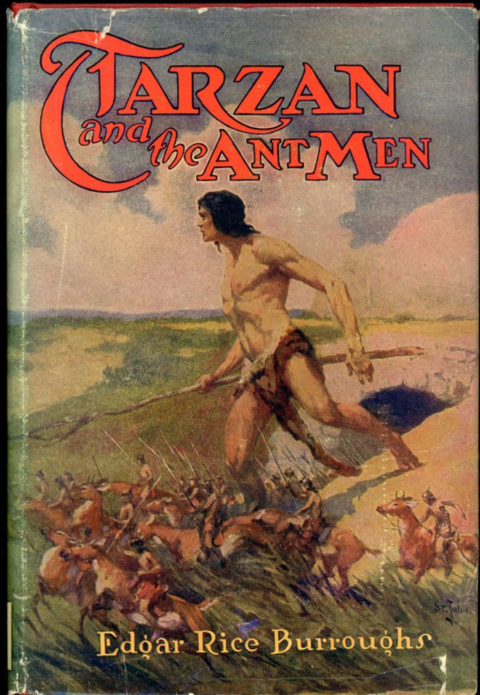 TARZAN AND THE ANT MEN. Edgar Rice Burroughs.