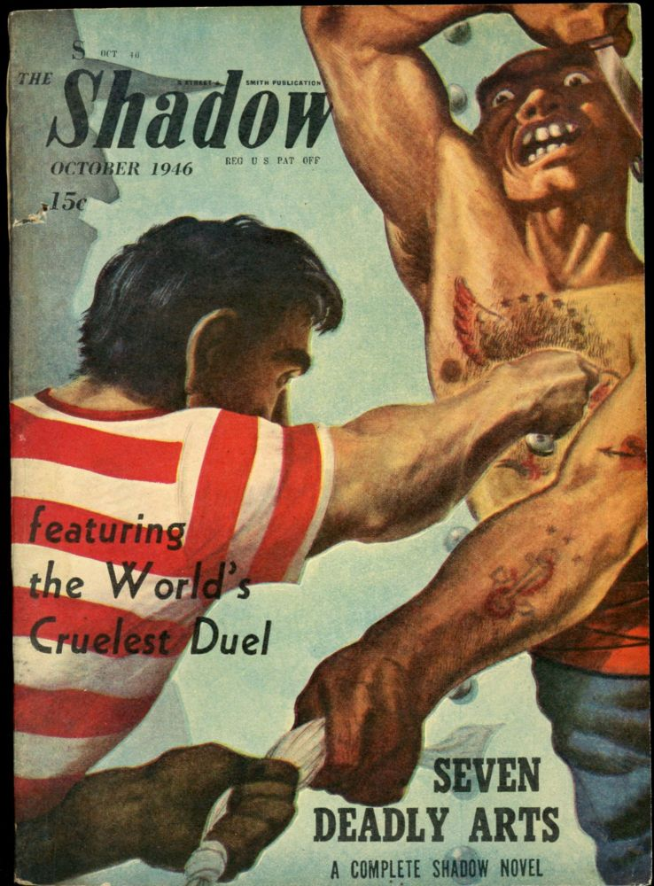 THE SHADOW. THE SHADOW. October 1946, No. 2 Volume 52.