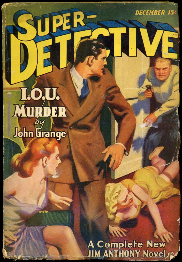 SUPER-DETECTIVE. SUPER-DETECTIVE. December 1941, No. 5 Volume 2.