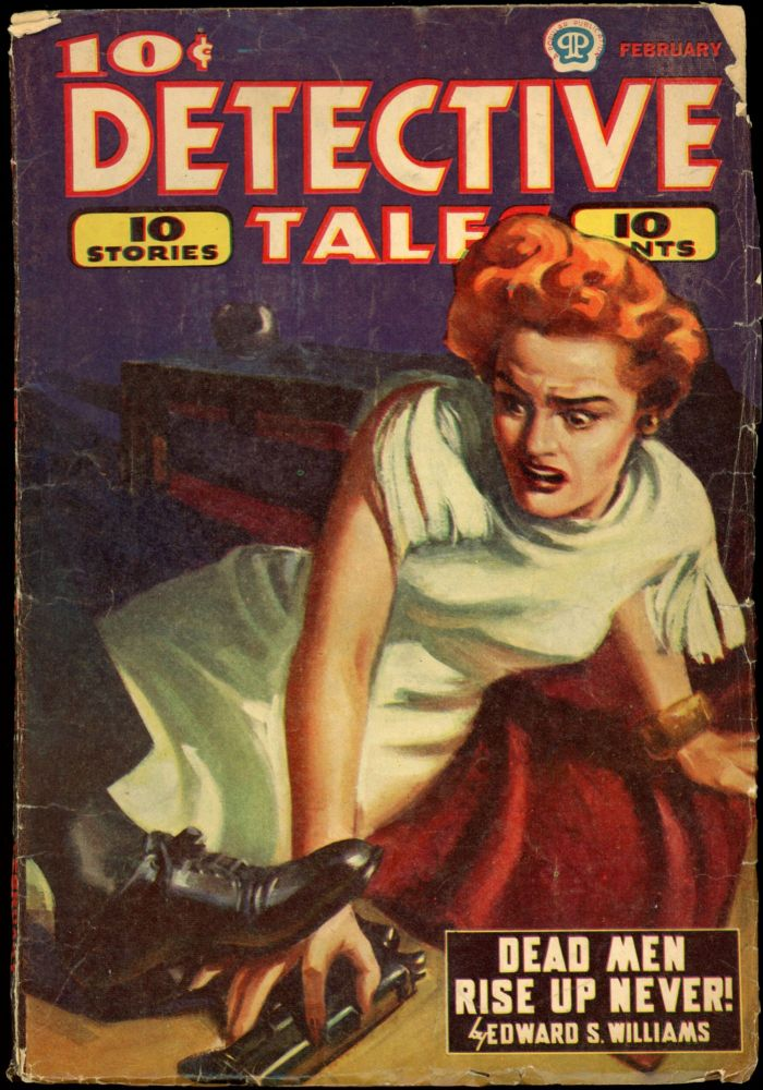 DETECTIVE TALES [CANADIAN ISSUE]. DETECTIVE TALES. February 1944, No. 13 Volume 22.