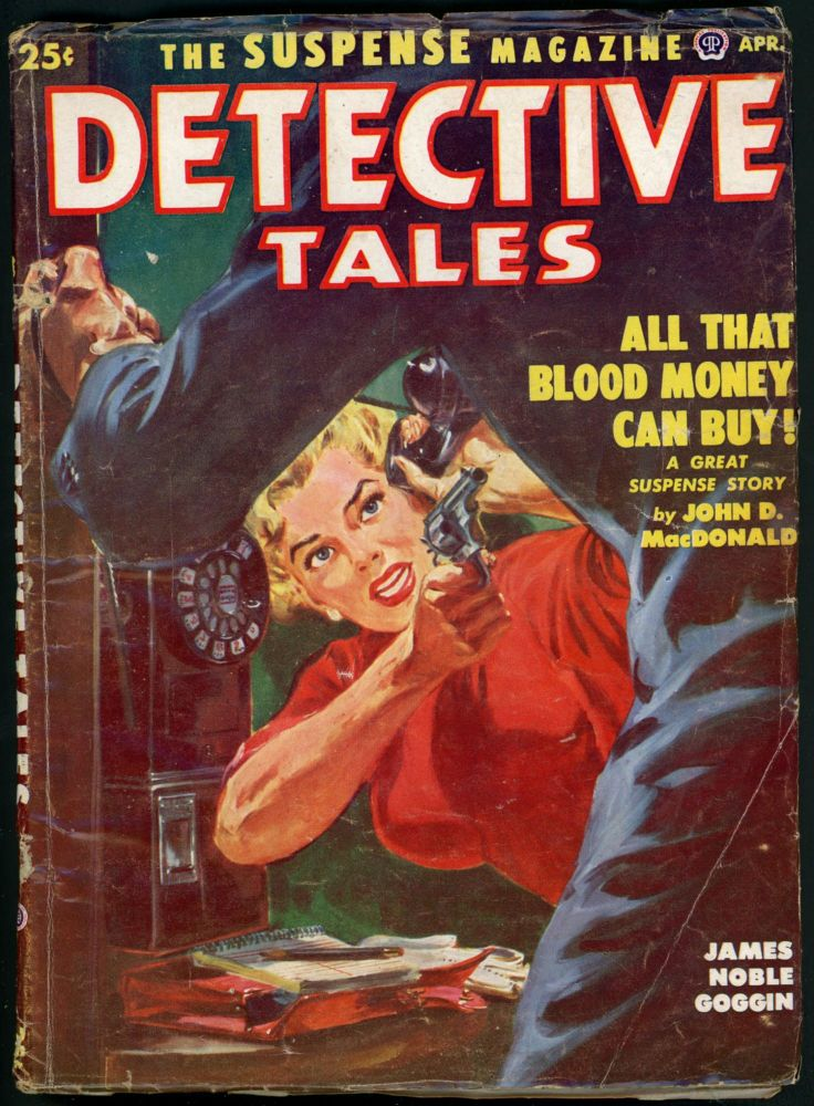 DETECTIVE TALES. DETECTIVE TALES. April 1952, No. 2 Volume 49.