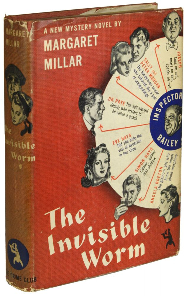 THE INVISIBLE WORM. Margaret Millar.