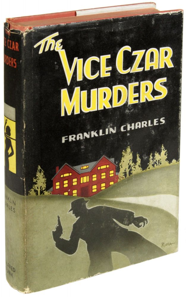 THE VICE CZAR MURDERS. pseudonym for Cleve Adams, Robert Leslie Bellem.