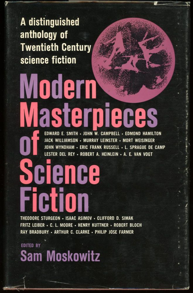 MODERN MASTERPIECES OF SCIENCE FICTION. Sam Moskowitz.