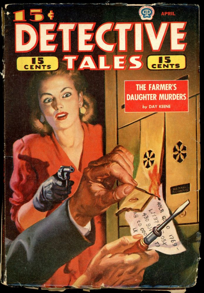 DETECTIVE TALES [CANADIAN ISSUE]. DETECTIVE TALES. April 1945, No. 27 Volume 22.