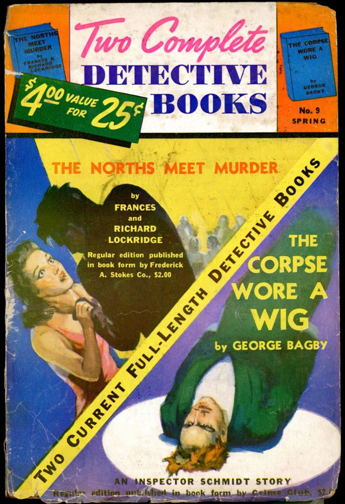 TWO COMPLETE DETECTIVE BOOKS. TWO COMPLETE DETECTIVE BOOKS. Spring 1941, No. 9 Volume 1, Malcolm Reiss.