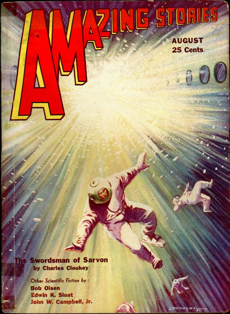 AMAZING STORIES. AMAZING STORIES. August 1932. ., T. O'Connor Sloane, No. 5 Volume 7.