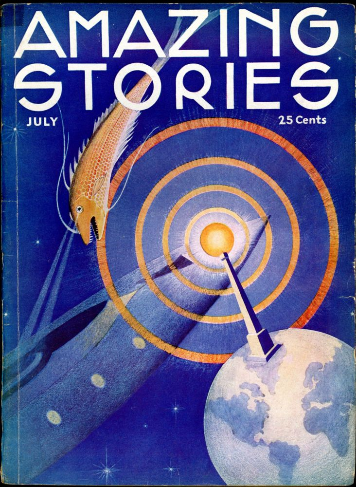 AMAZING STORIES. AMAZING STORIES. July 1933. ., T. O'Connor Sloane, No. 4 Volume 8.
