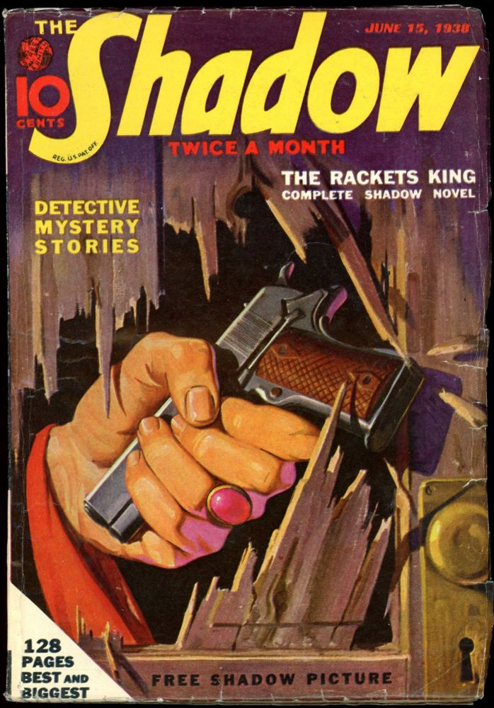 THE SHADOW. 1938 THE SHADOW. June 15, No. 2 Volume 26.