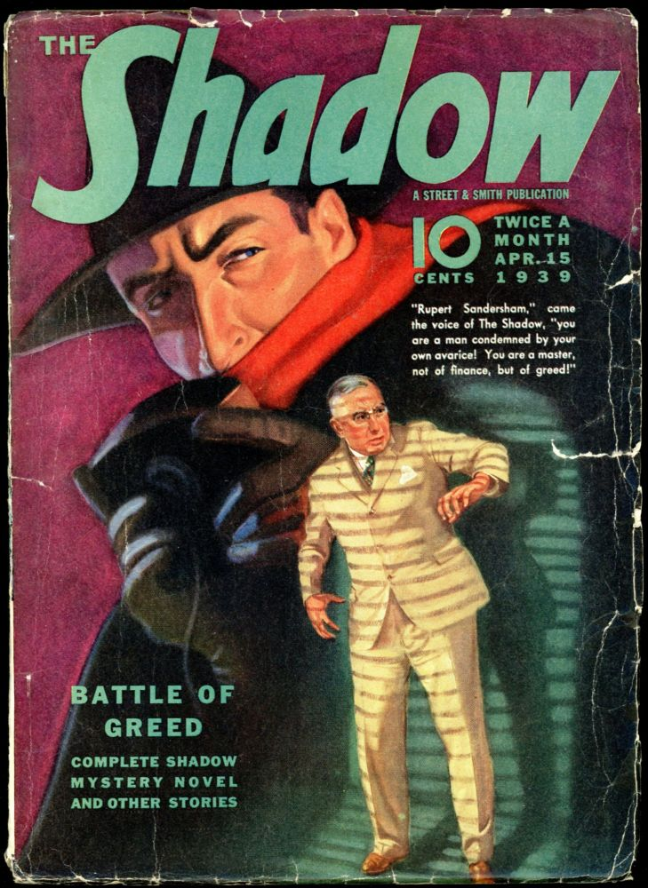 THE SHADOW. 1939 THE SHADOW. April 15, No. 4 Volume 29.
