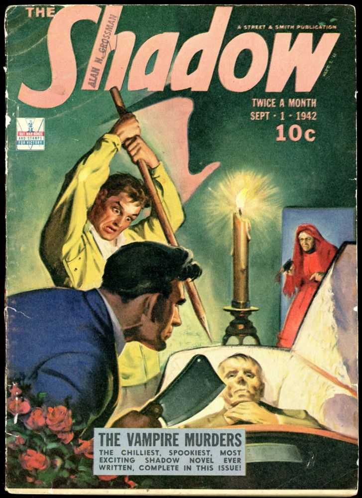 THE SHADOW. 1942 THE SHADOW. September 1, No. 1 Volume 43.