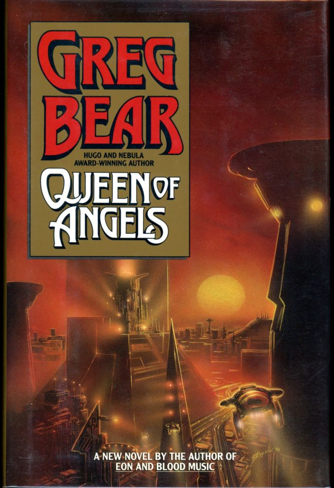 QUEEN OF ANGELS. Greg Bear.