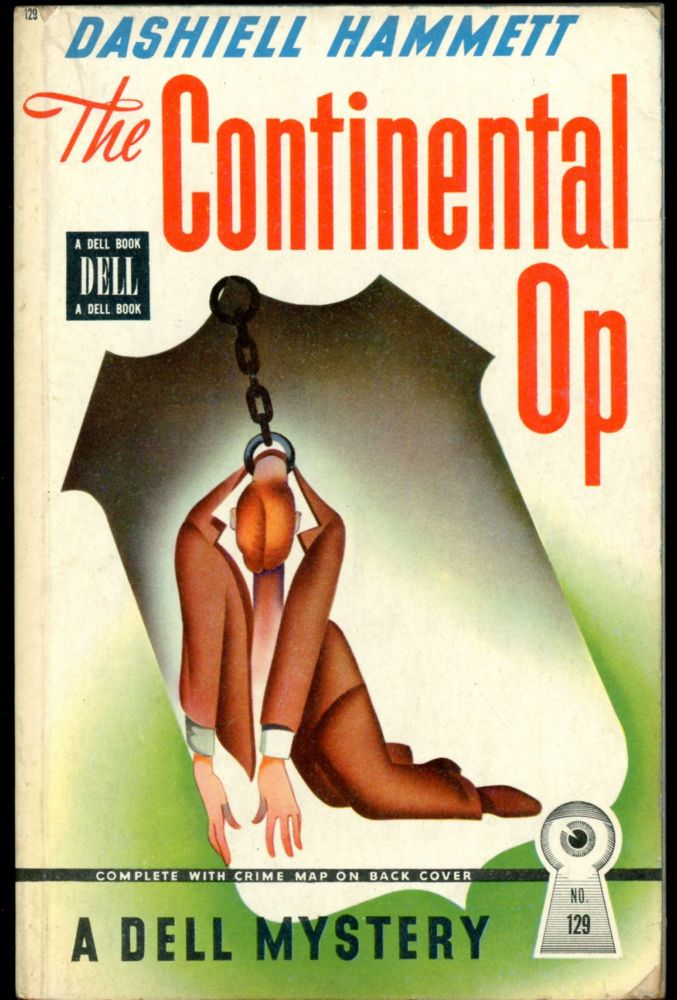 THE CONTINENTAL OP. Dashiell Hammett.