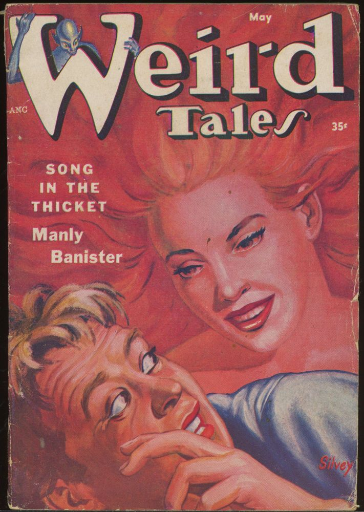 WEIRD TALES. WEIRD TALES. May 1954. . Dorothy McIlwraith, No. 2 Volume 46.