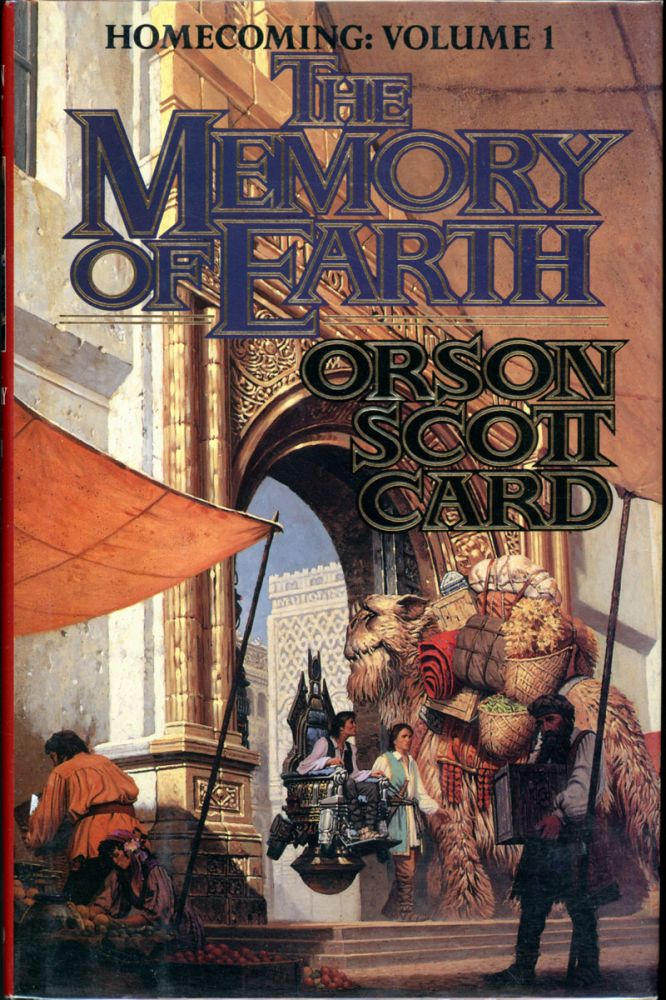 THE MEMORY OF EARTH. Orson Scott Card.