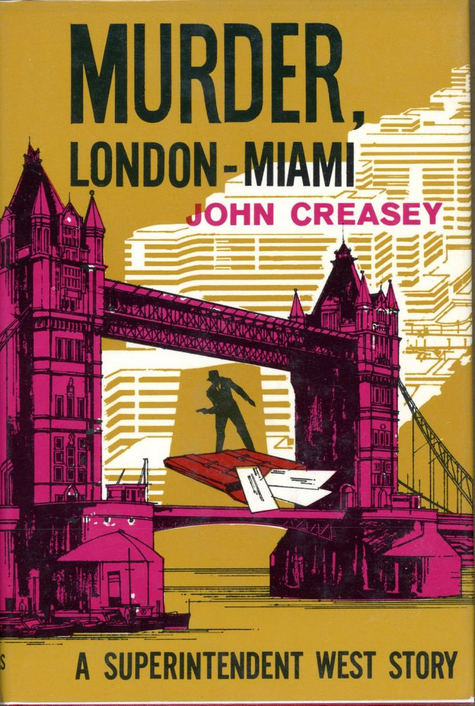 MURDER, LONDON-MIAMI. John Creasey.