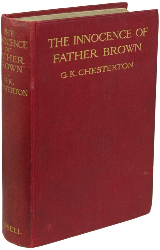 THE INNOCENCE OF FATHER BROWN. Chesterton, ilbert, eith.