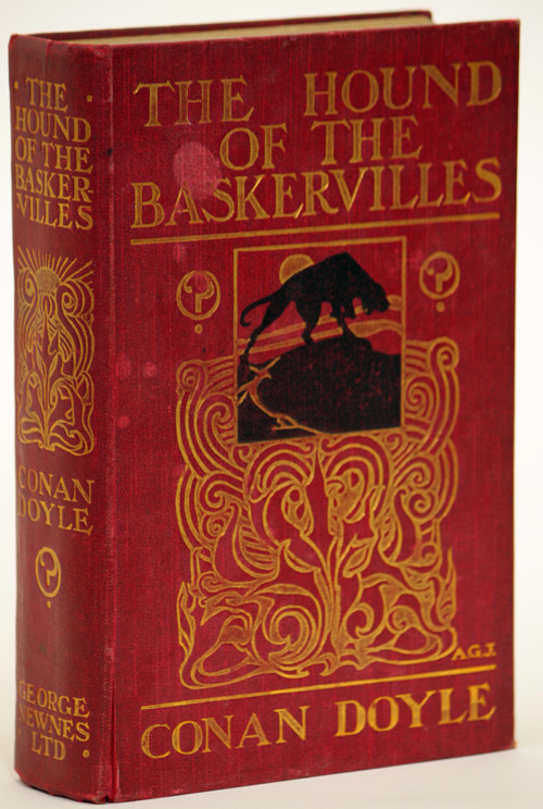 THE HOUND OF THE BASKERVILLES: ANOTHER ADVENTURE OF SHERLOCK HOLMES. Sir Arthur Conan Doyle.