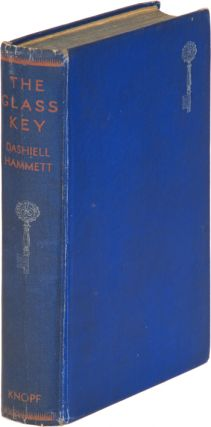 THE GLASS KEY. Dashiell Hammett