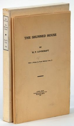 THE SHUNNED HOUSE. Lovecraft, oward, hillips