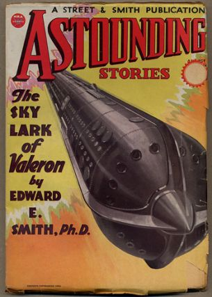 ASTOUNDING STORIES. 1934. . F. Orlin Tremaine ASTOUNDING STORIES. August, No. 6 Volume 13