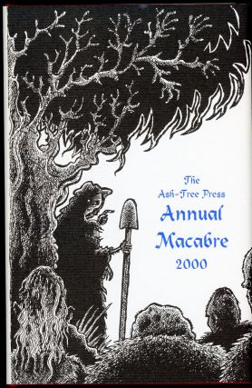 THE ASH-TREE PRESS ANNUAL MACABRE 2000. Jack Adrian.