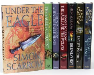 THE EAGLE SERIES: UNDER THE EAGLE, THE EAGLE'S CONQUEST, WHEN THE EAGLE HUNTS, THE EAGLE AND THE...