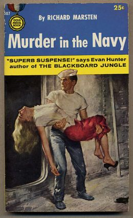 MURDER IN THE NAVY. Richard Marsten, Evan Hunter