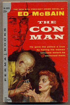 THE CON MAN. Ed McBain, Evan Hunter