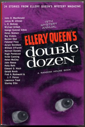 ELLERY QUEEN'S DOUBLE DOZEN: 24 STORIES FROM ELLERY QUEEN'S MYSTERY MAGAZINE. Frederic Dannay,...