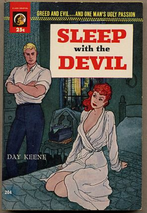 SLEEP WITH THE DEVIL. Day Keene, Gunnard Hjerststedt