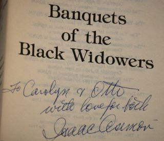 BANQUETS OF THE BLACK WIDOWERS.