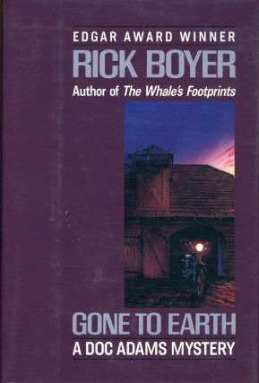 GONE TO EARTH. Rick Boyer