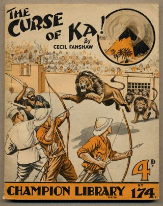 THE CURSE OF KA! Cecil Fanshaw, pseudonym for Cecil Dent