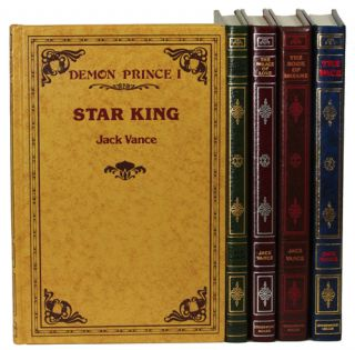 THE DEMON PRINCES SERIES: THE STAR KING, THE KILLING MACHINE, THE PALACE OF LOVE, THE FACE and...