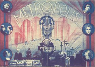 [METROPOLIS PHOTOPLAY ARCHIVE]: METROPOLIS. ROMAN ... [first printing of the photoplay edition] with METROPOLIS. ROMAN... [second printing of the photoplay edition] with METROPOLIS. ROMAN ... [third printing of the photoplay edition]. With a German advertising herald for the film and a Fritz Lang signature.