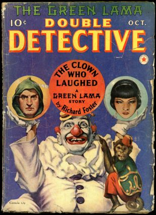 The Green Lama]. DOUBLE DETECTIVE. The Green Lama, 1940 DOUBLE DETECTIVE. October, No. 5 Volume 6