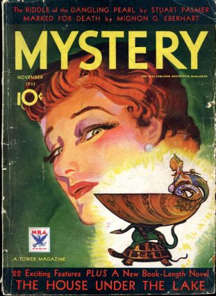 THE MYSTERY MAGAZINE. 1933. . THE MYSTERY MAGAZINE. November, Hugh Weir, number 5 volume 8