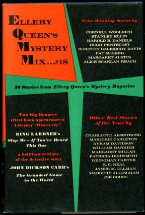 ELLERY QUEEN'S MYSTERY MIX...#18: 20 STORIES FROM ELLERY QUEEN'S MYSTERY MAGAZINE. Ellery Queen