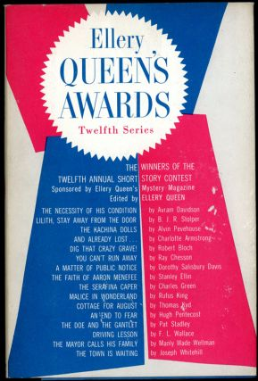 ELLERY QUEEN'S AWARDS: TWELFTH SERIES. Frederic Dannay, Manfred B. Lee