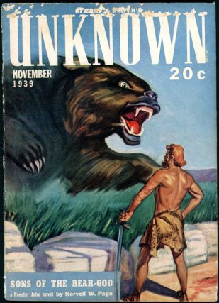UNKNOWN. 1939. . . UNKNOWN. November, John W. Campbell Jr, No. 3 Volume 2, Raymond Chandler