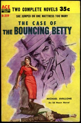 THE CASE OF THE BOUNCING BETTY bound with THE CASE OF THE VIOLENT VIRGIN. Michael Avallone