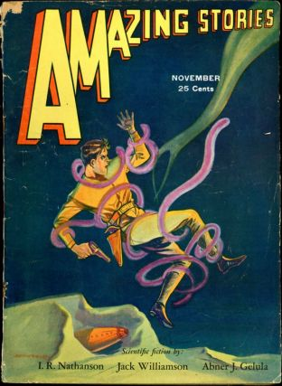 AMAZING STORIES. 1931 . AMAZING STORIES. November, T. O'Connor Sloane, No. 8 Volume 6