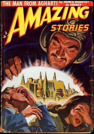 AMAZING STORIES. 1948. . AMAZING STORIES. July, Raymond A. Palmer, No. 7 Volume 22