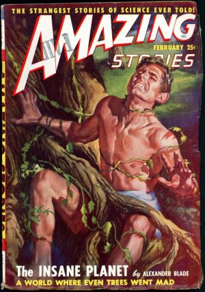 AMAZING STORIES. 1949. . AMAZING STORIES. February, Raymond A. Palmer, No. 2 Volume 23