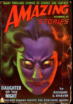 AMAZING STORIES. 1948. . AMAZING STORIES. December, Raymond A. Palmer, No. 12 Volume 22