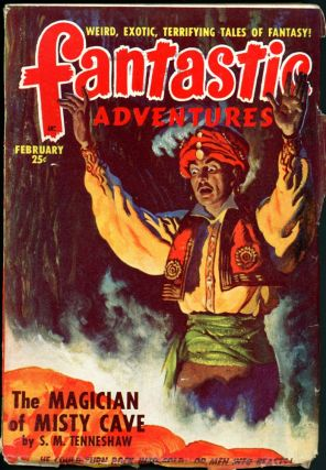 FANTASTIC ADVENTURES. 1949. . FANTASTIC ADVENTURES. February, Raymond A. Palmer, No. 2 Volume 11