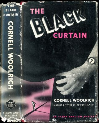 THE BLACK CURTAIN. Cornell Woolrich