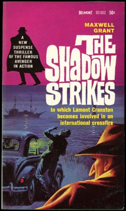 "THE SHADOW STRIKES. Dennis Lynds, ""Walter Gibson."""